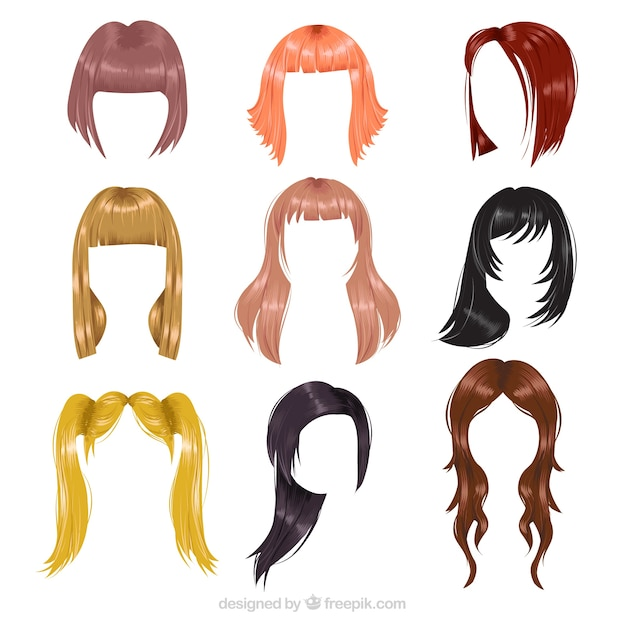 hair vectors photos and psd files free download rh freepik com vector hair silhouette vector hair silhouette