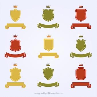 Разнообразие короля эмблем