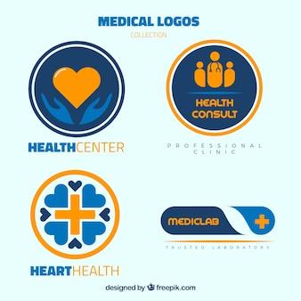 医療ロゴのバラエティ