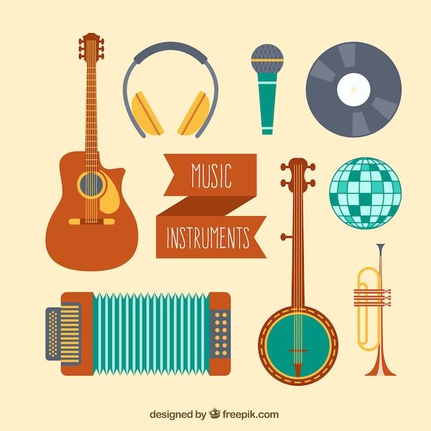 楽器のバラエティ