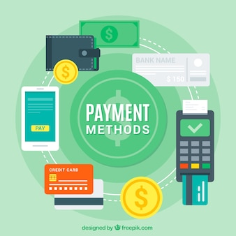 Variety of payment methods