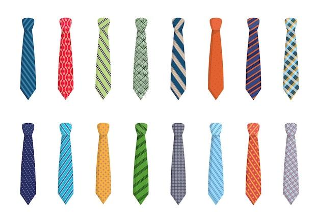 Variety of ties set