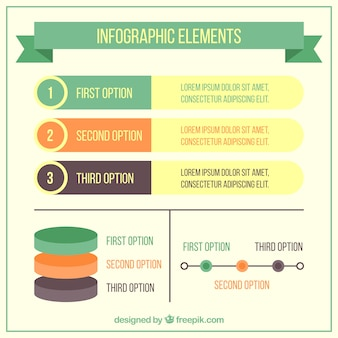 Variety of useful infographic elements