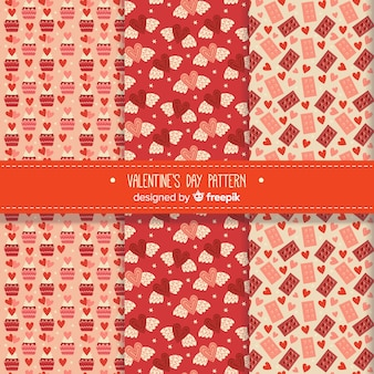 Variety of valentine's day patterns