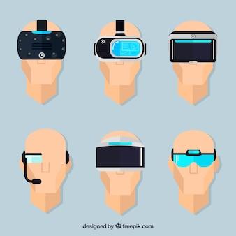 Variety of virtual reality glasses
