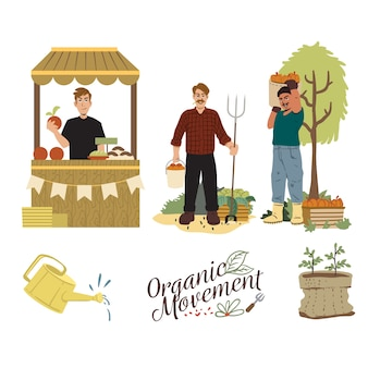 Various activities of organic concept