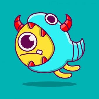 さまざまな動物キャラクターステッカーデザインイラスト