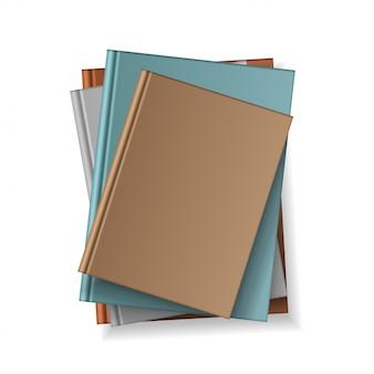 デザインとプレゼンテーション用のさまざまな空白のカラーブック