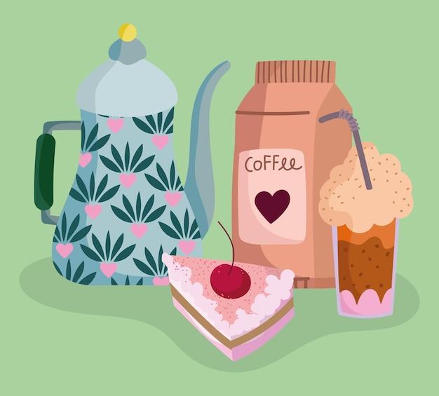 다양한 커피 제품