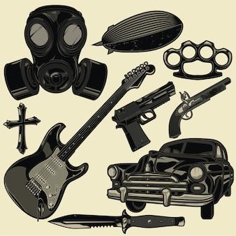 Various elements
