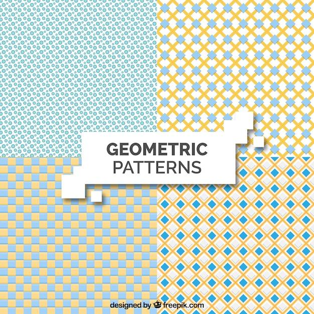 cb1af508a Various geometric vintage patterns