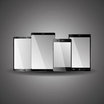 Various mobile phones equipment technology