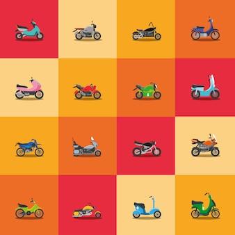 Транспорт различных мотоциклов