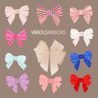 Various ribbons