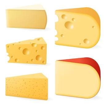 각종 치즈