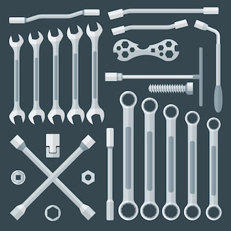Various wrench set