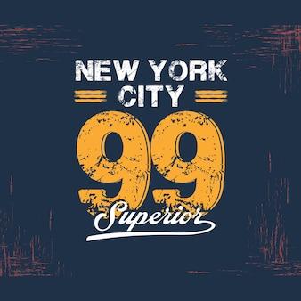 Varsity college New York typography