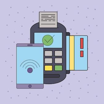 Бесконтактная оплата ваучером и смартфоном