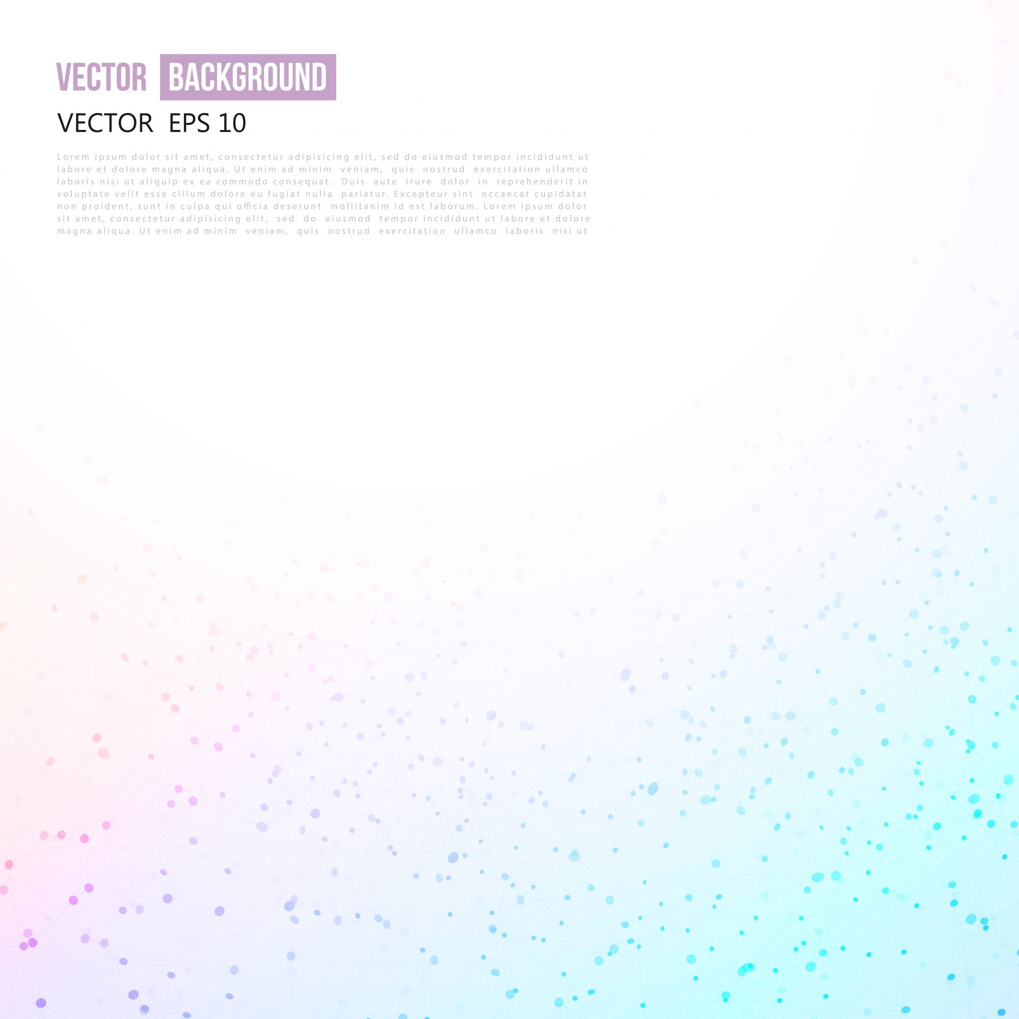 Vector abstract background design wavy.