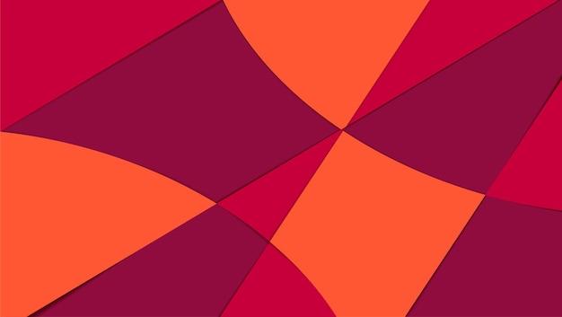 ベクトルの抽象的な背景の幾何学的なデザイン