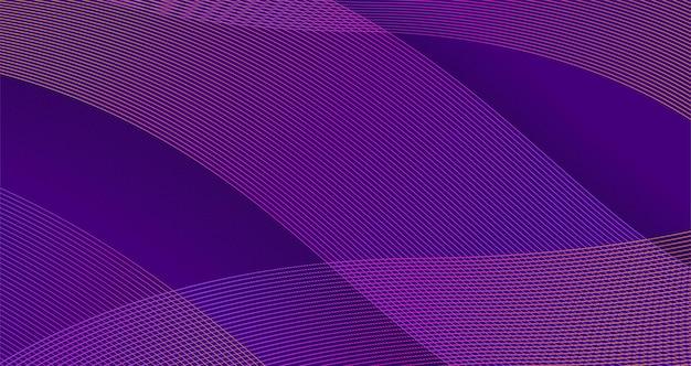 Vector abstract background presentation modern wave curve design