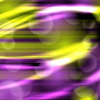 Вектор абстрактный фон со свечением и огнями и режимами