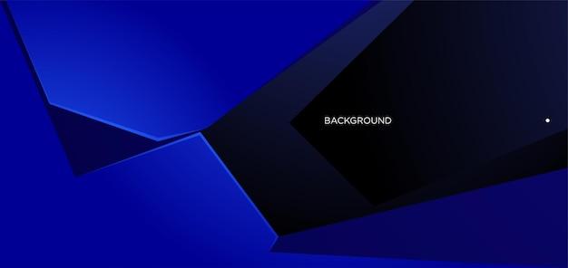 Вектор абстрактный синий геометрический фон