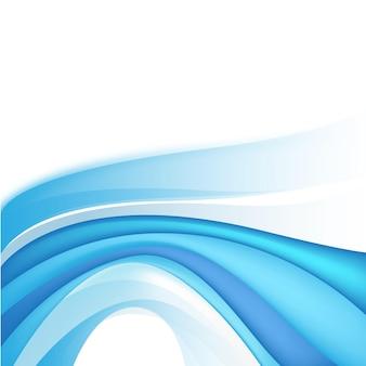 벡터 추상 블루 스트림, 흐름 물 배경, 벽지