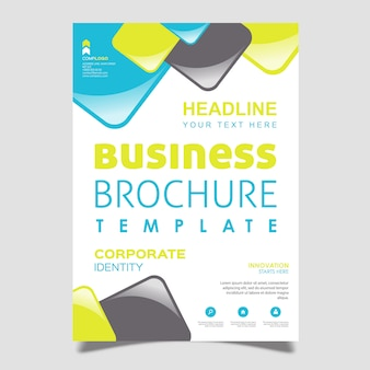 Vector Abstract Brochure Design