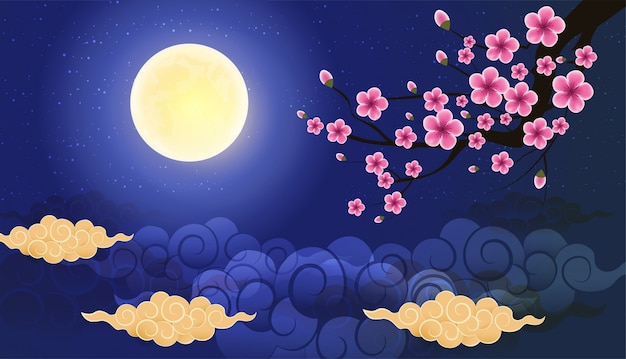 Vector of abstract chinese graphic and background