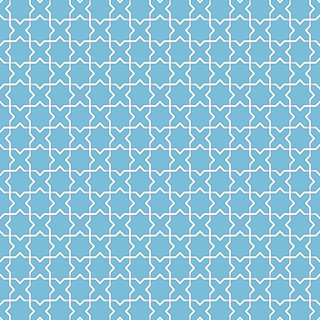 Free Vector Abstract Geometric Islamic Background Based On