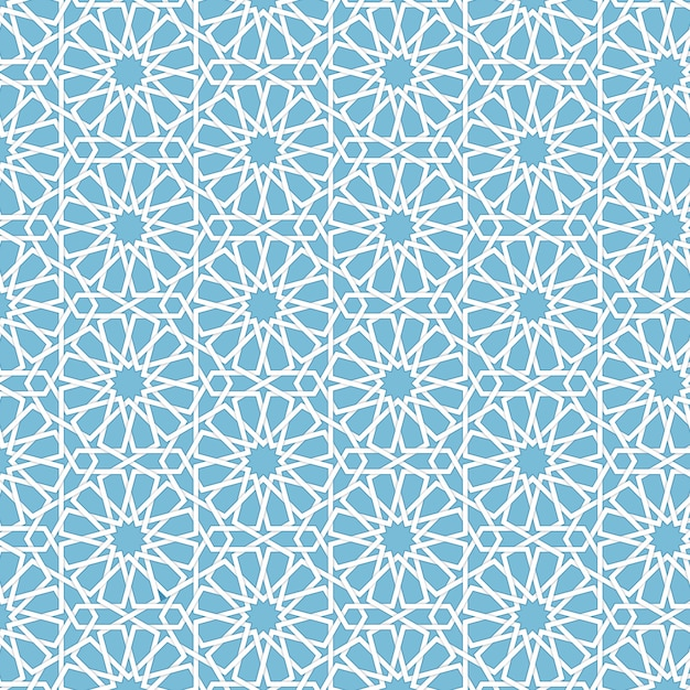 High Quality Vector Abstract Geometric Islamic Background. Based On Ethnic Muslim  Ornaments. Intertwined Paper Stripes.