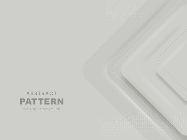 灰色のベクトル抽象的な幾何学模様の背景。