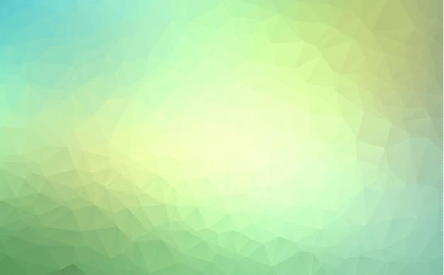 Vector abstract irregular polygon background