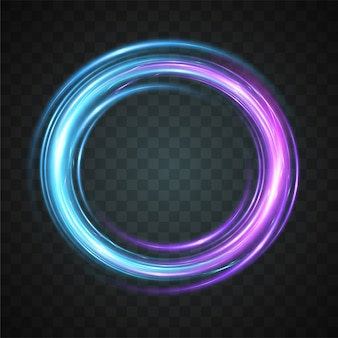 Vector of abstract light effect.