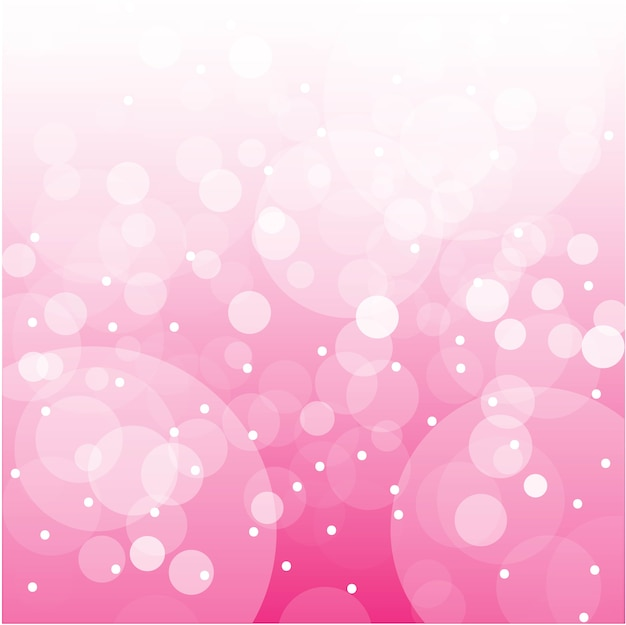 Vector of abstract pink bokeh background