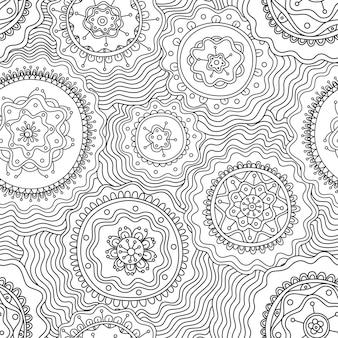 벡터 추상 원활한 패턴