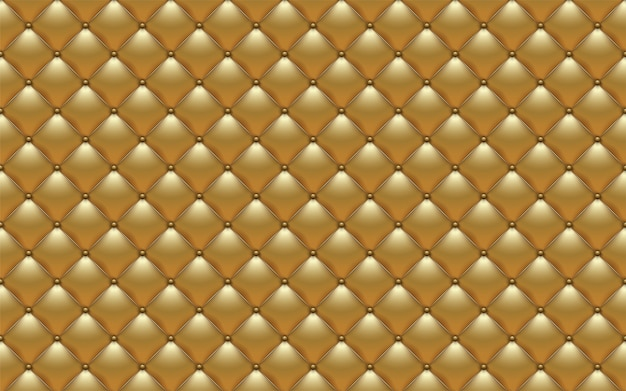 Vector abstract upholstery or gold leather texture sofa background