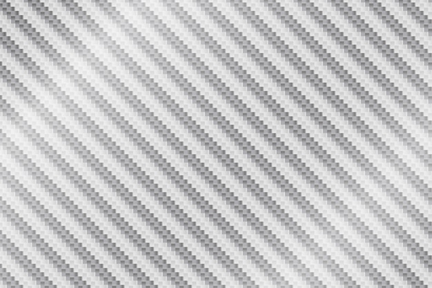 Vector abstract white metal carbon fiber background