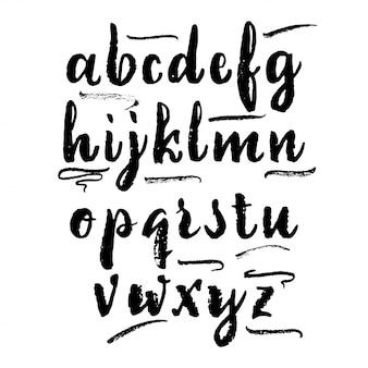 Vector alphabet.