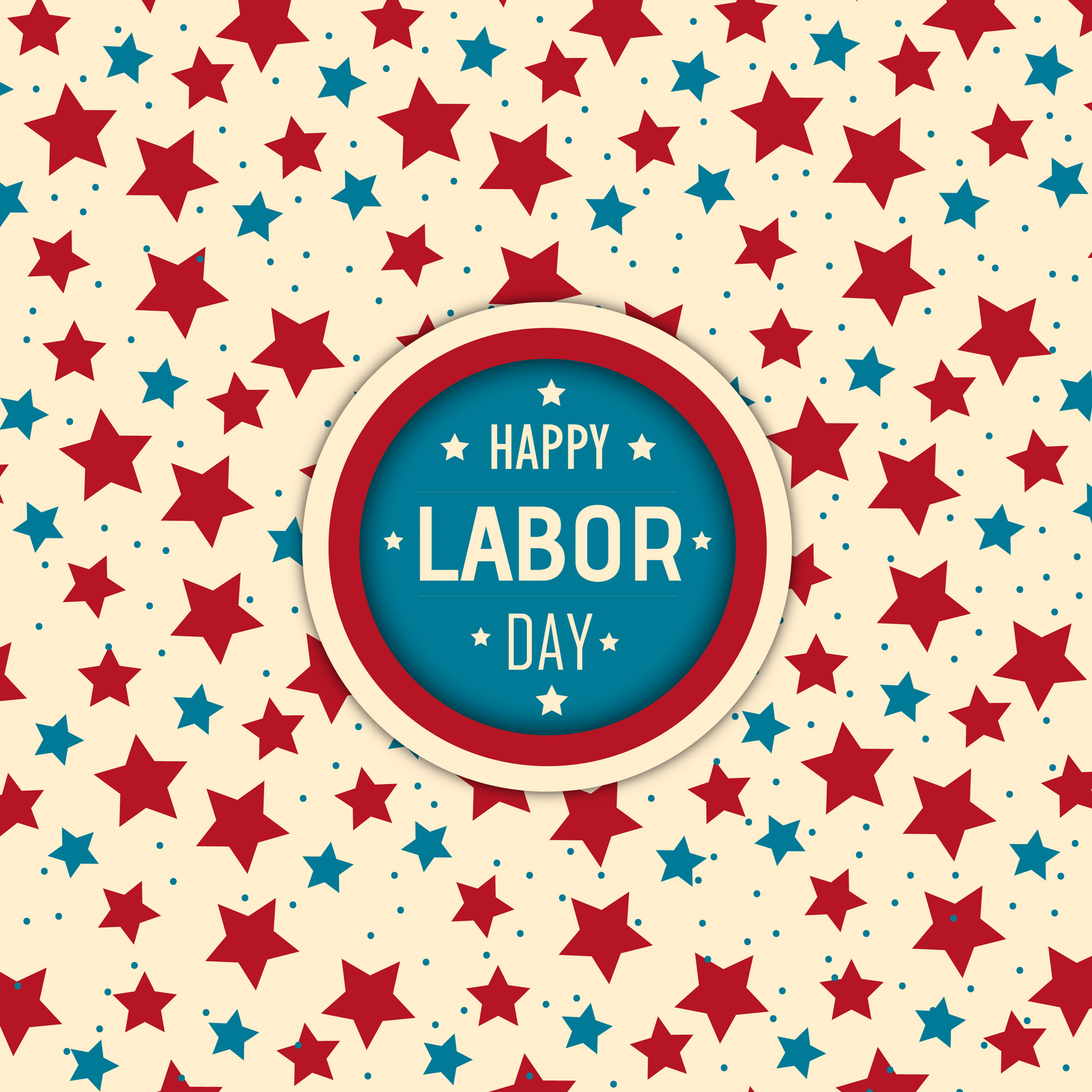 Vector American Labor Day Background