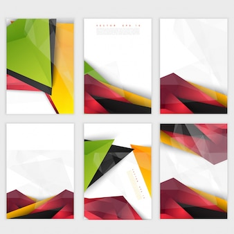 Vector background abstract polygon triangles. Free Vector