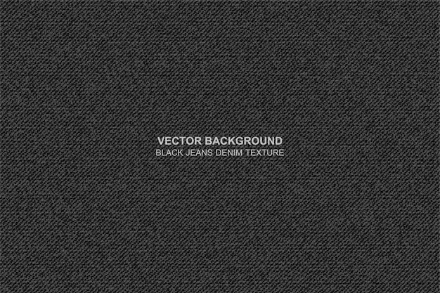 Vector background black jeans denim texture