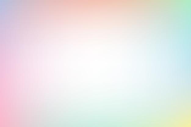 밝은 파스텔 무지개 색상의 벡터 배경
