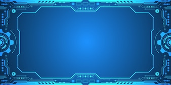 Vector background in the concept of technology.