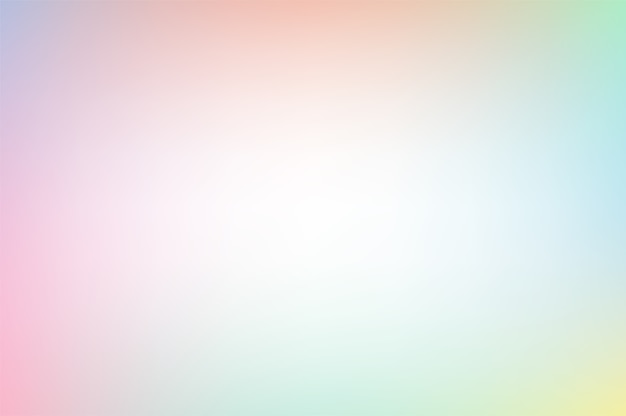 Vector background in light pastel rainbow colors