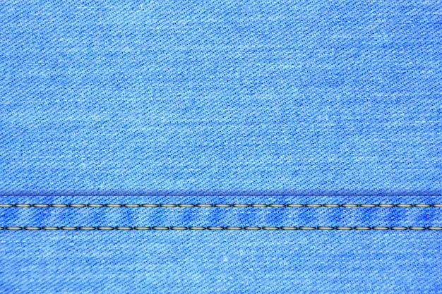 Векторный фон из джинсовой ткани синих джинсов текстуры моды светло-голубой холст материал текстильная одежда