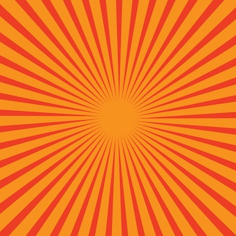 Vector background  with sun rays