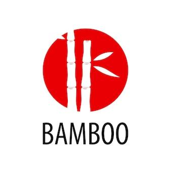 Векторный логотип бамбука