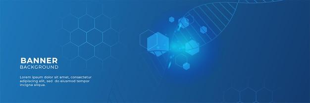 Печатная плата дизайна баннера вектора. иллюстрация абстрактный современный футуристический, инженерный, технологический фон. футуристическая концепция цифровых научных технологий для шаблона веб-баннера или брошюры